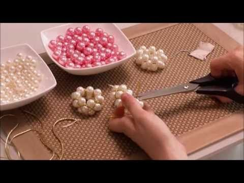 DIY: Prendedor de guardanapos com pérolas - YouTube