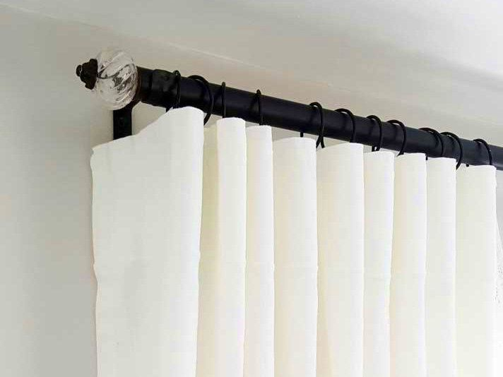 Tie Backs For Curtains Hooks And Hanging Curtain Rod With Command Hooks Rings Drapery In 2020 Curtain Hooks Curtains Hanging Curtain Rods