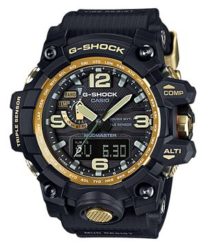 casio G shock Mudmaster. Atomic solar powered with compass altimeter barometer, temp GWG-1000GB-1A