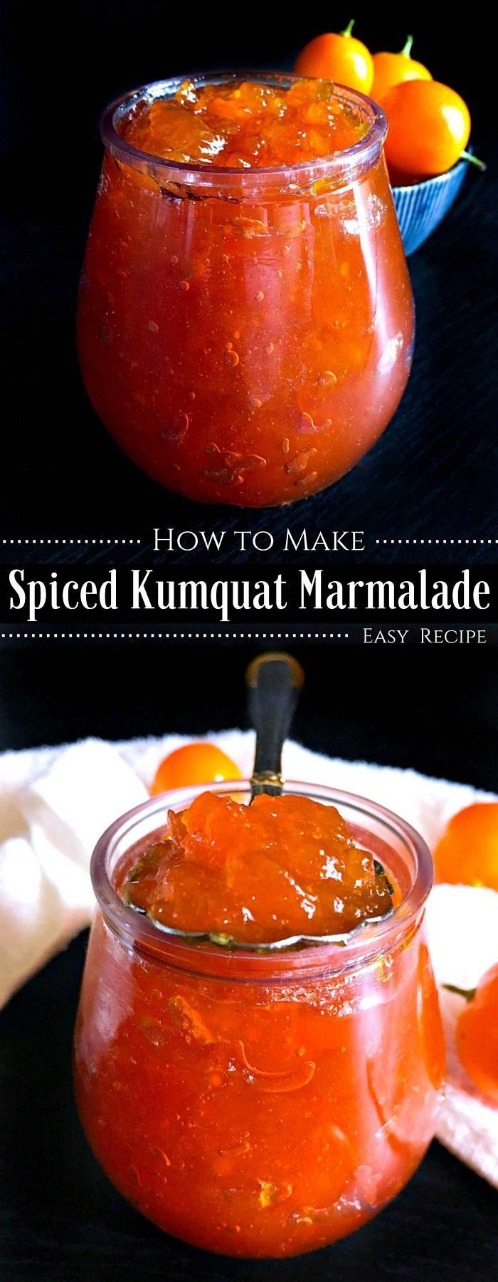 How to make a Kumquat Marmalade - Easy Recipe : #kumquat #marmalade #jam…