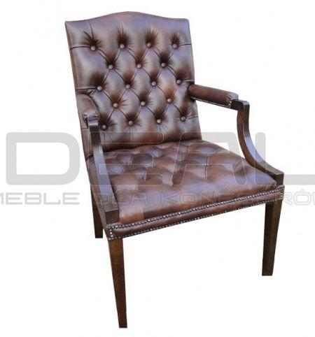 fotel Chesterfield, styl angielski, armchair, głęboko pikowany, skóra, skin, brązowy, brown,  antique, comfortable, wygodny fotel_chesterfield_morall_01.jpg (450×482)