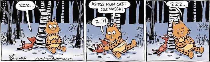 Kamala luonto - 14.1.2016 - Sarjakuvat - Ilta-Sanomat