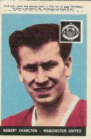 3. Robert (Bobby) Charlton Manchester United