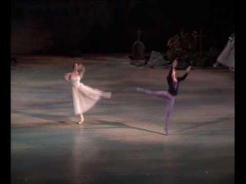 Last dance of Giselle and Albrecht - Polina Semionova and Vladimir Shkly...