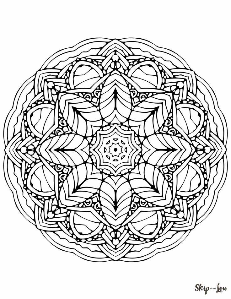 10 besten Kostenlose Malvorlagen Indisches Mandala Bilder auf ...