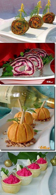 Закуски к новогоднему столу и праздничные закуски с фото