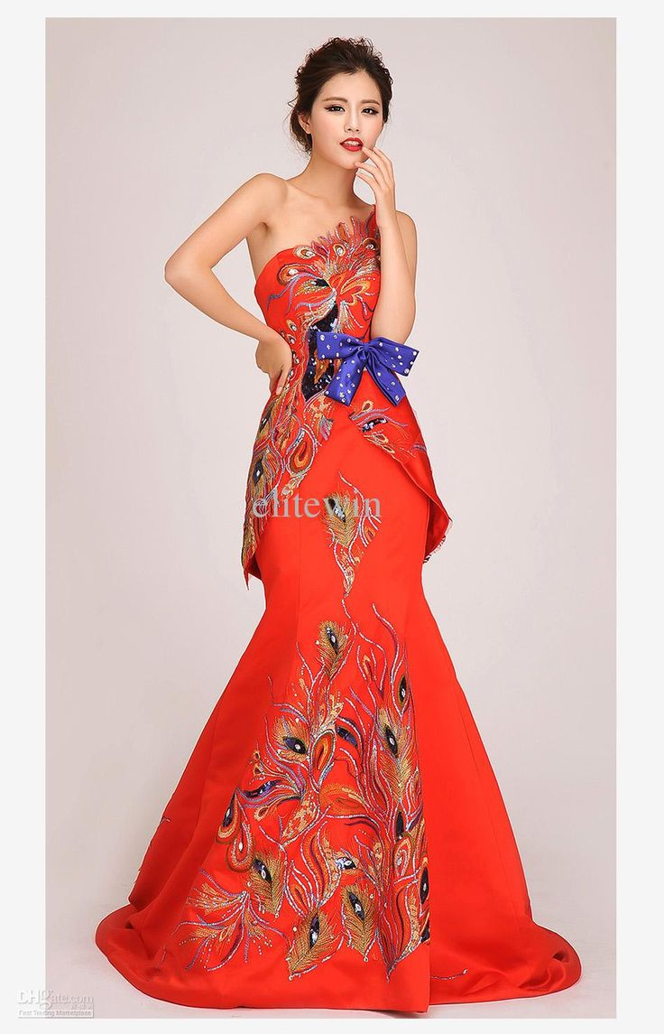 23 best east asian bridal gowns hair and decor images on for Discount wedding dresses phoenix