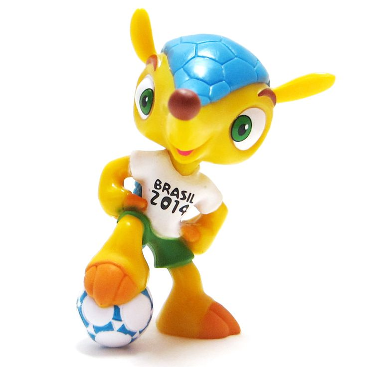 2014 FIFA World Cup official mascot: Fuleco See More: http://sportyghost.com/2014-fifa-world-cup-official-mascot-fuleco/