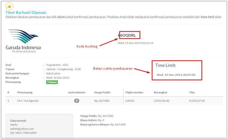 CARA BOOKING TIKET PESAWAT ONLINE - Q tiket blog - Informasi promo tiket pesawat, kereta api & hotel