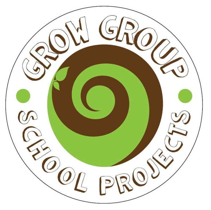 School Projects has a logo #SouthAfrica #helloWorld #trees #seeds #milliontreecampaign #growgroup #schoolprojects