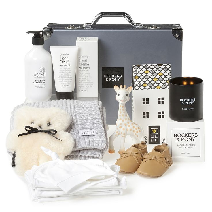Splendid Baby Luxury Gift Hamper | Luxury Baby Gifts & Hampers | Bockers and Pony