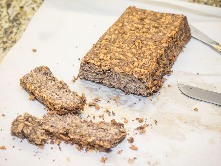 Paine fara gluten cu seminte chia