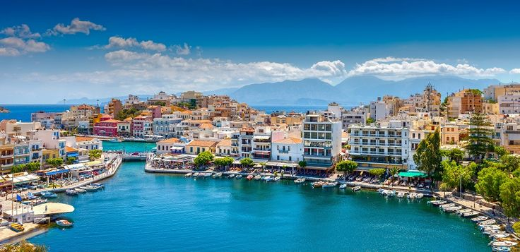 Agios Nikolaos, Crete. One of the most beautiful towns in Greece