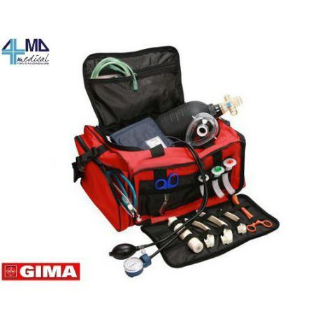 GIMA BOLSA PARA EMERGENCIAS Y PRIMEROS AUXILIOS - GIMA 6 - LLENA A 224,99€ + IVA