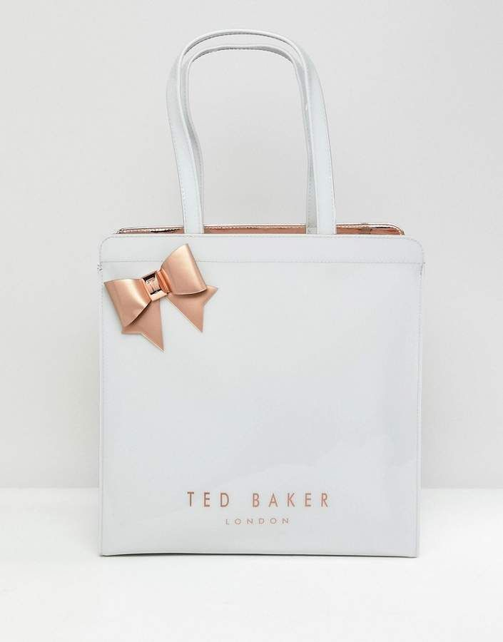 564a8a696d16a Ted Baker large bow icon bag