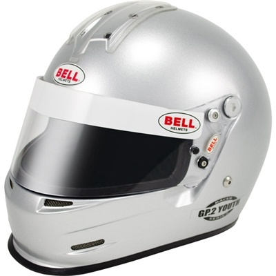 Bell GP2 Youth Silver from HelmetLab.com