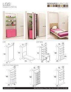 LGS | Resource Furniture | Wall Beds & Murphy Beds