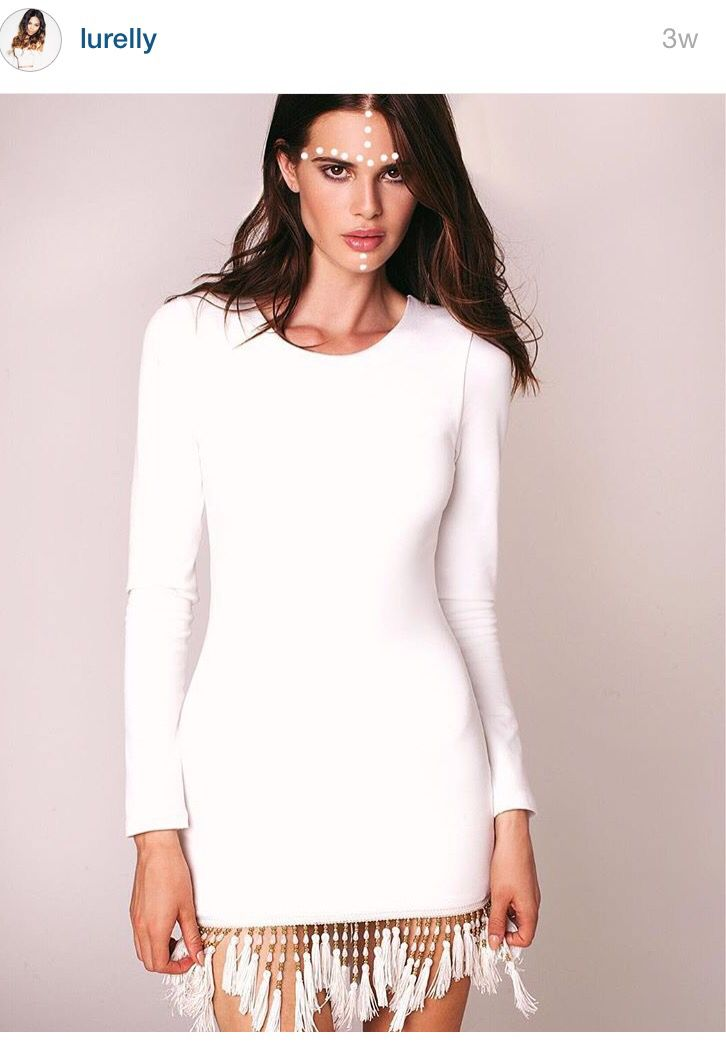 Lurelly all white party dress