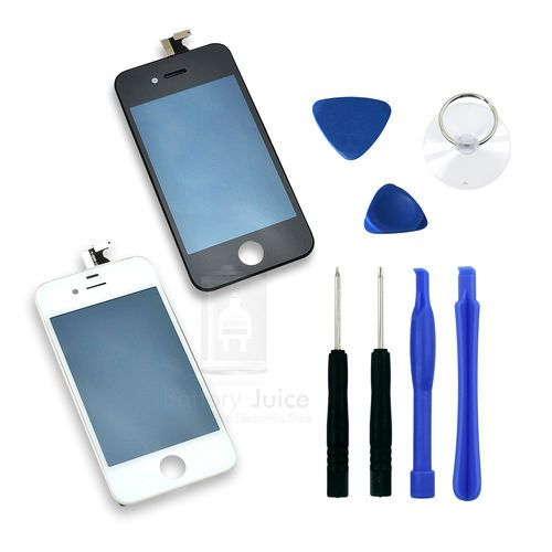 Black White LCD Screen Glass Digitizer Assembly for CDMA Verizon Sprint iPhone 4 ★iPHONE 4 CDMA★SHIPS SAME/NEXT DAY - PHX, AZ!★