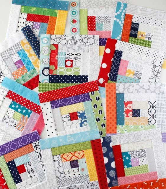 Paper Piecing Quilt Patterns Log Cabin : 2071 best images about Log Cabin Quilts on Pinterest Quilt, Log cabin designs and Modern log ...