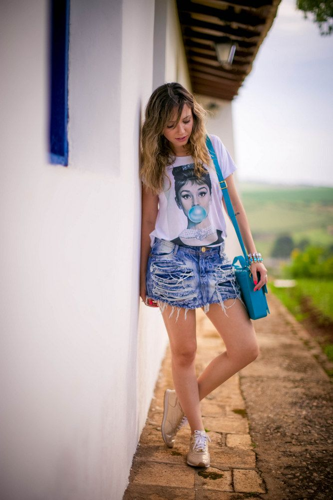 Look: Chiclete Azul!    por Taciele Alcolea   Taciele Alcolea       - http://modatrade.com.br/look-chiclete-azul