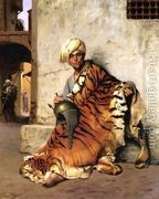 Pelt Merchant Of Cairo  by Jean-Léon Gérôme