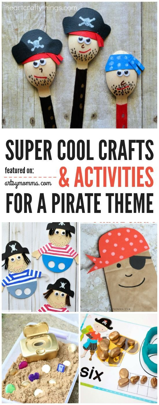 Pirates are a never-ending sensation with kids. They are never out of style and they are always fun and cool. Well, in this post, we will show you a list of super cool crafts and activities for a Pirate theme!