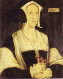 MARGARET WOTTON (1487-1541)  Her second husband was Thomas Grey, Second Marquis of Dorset, (June 22, 1477-October 10, 1530). As marchioness of Dorset, Margaret accompanied Mary Tudor to France in 1514, and was one of Elizabeth Tudor's godmothers.Margaret Wotton, Henry Viii, Gables Hoods, Marchio, Gowns Ideas, Lady Margaret, Dorset 1487, Hans Holbein, Tudor Gowns