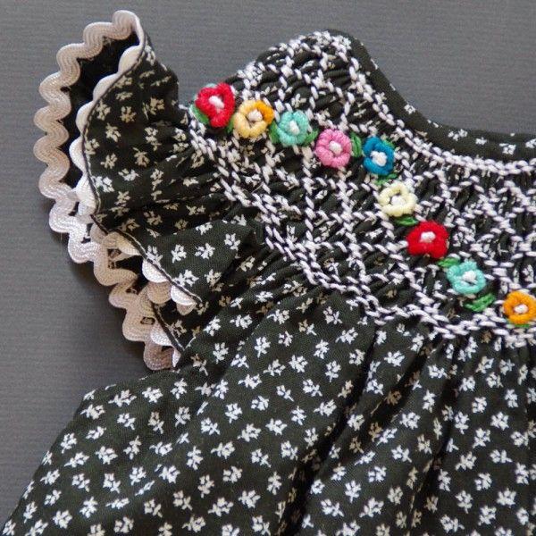 coquito smocked baby dress - timmelkam