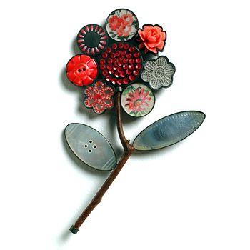 flower corsage brooch - grainne morton