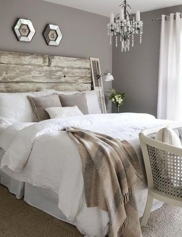 gray bedroom - ABSOLUTELY SUPERB!! - SO BEAUTIFULLY DECORATED!! ⚜