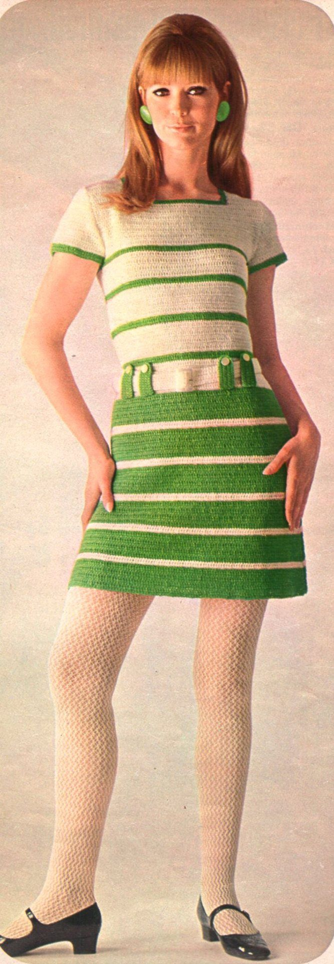 1960's Fashion It was a time of change. Girls were wearing ...