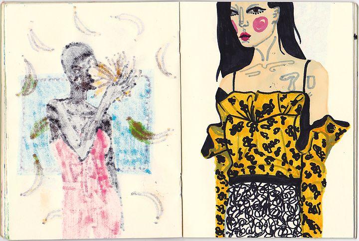 Buzzing in Dior