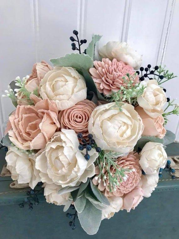 Sola Blumenstrauss Erroten Rosa Sola Holz Blume Hochzeitsstrauss Eco Blumen Blume Blumen Blume Hochzeit Strauss Hochzeitsstrauss Blumenstrauss Hochzeit