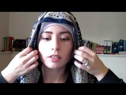 Adjustable Niqab with Square Scarf! - YouTube