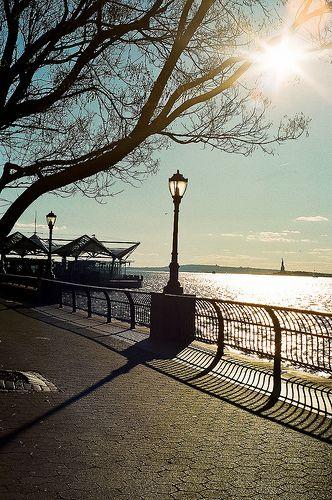 ニューヨークに来たら訪れたい場所 -ニューヨーク バッテリーパーク