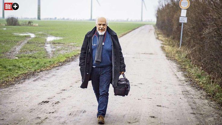SEIT 32 JAHREN IM EINSATZ Der Landarzt von Fehmarn Manchmal macht Dr. Johannes Grünitz (64) sogar Ultraschall-Untersuchungen bei Katzen