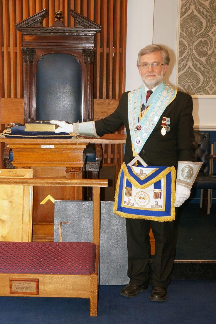 W. Bro. John Steed PPrGStB, Worshipful Master 2014
