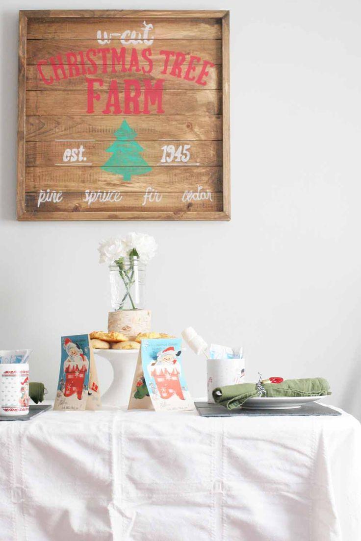 Throw a Christmas Hot Chocolate and Cookie Party, Cocoa and Cookies Party, #hotchocolate #cookieparty #christmas