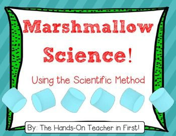 I love using student friendly objects for teaching the Scientific method! One of my best sellers is my Bubblegum Science: Using the Scientific Method packet, and I know it is because it is KID-FRIENDLY! This packet is all about that fluffy white treat that all kids (well, MOST kids)