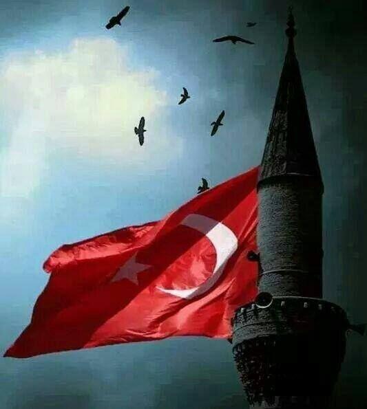 """""""Bir Yerin Adına Denince Türk Ülkesi, Gözüm Al Bayrak Arar, Kulağım Ezan Sesi!"""""""