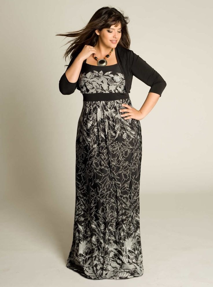 plus size long summer dresses