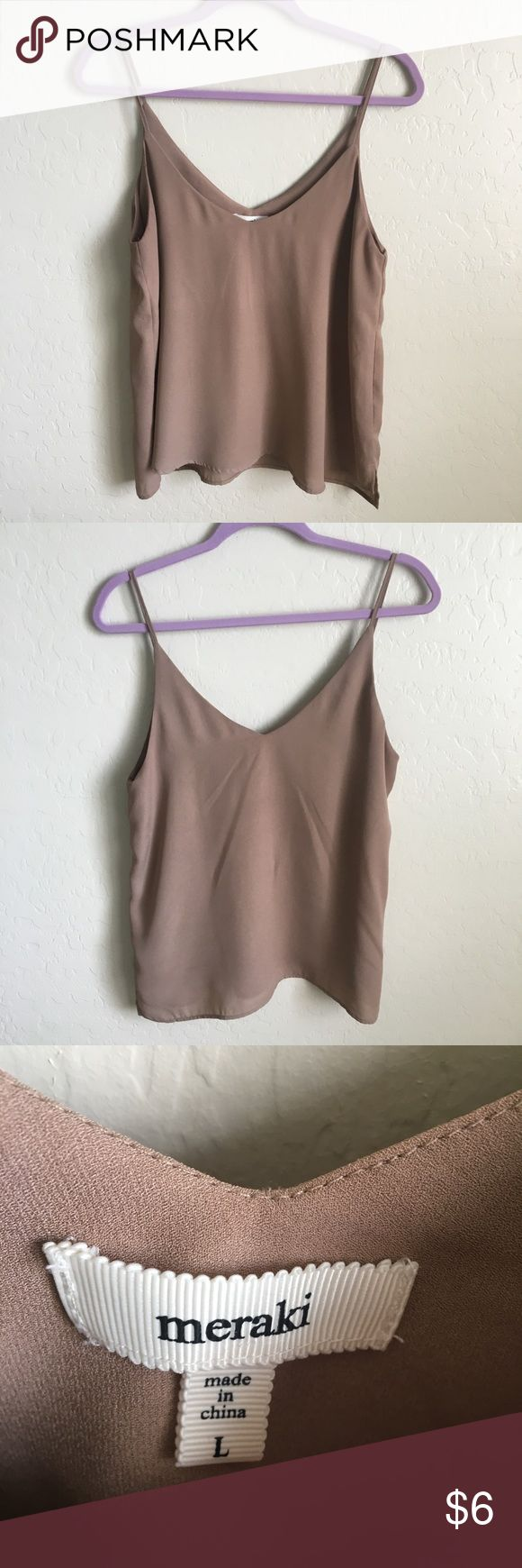 BROWN TAUPE TANK TOP CROP TOP Very sexy, tank top that bares the midriff a little longer than a crop top but not long enough for regular tank top! The color is super in trend! Pair with a pair of black skinny jeans and strapy heels! Price is firm unless bundles with multiple items! Department store brand! From Nordstrom! Nordstrom Tops Tank Tops