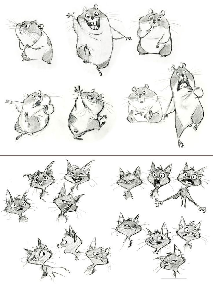 Bolt character concepts, expressions by JimKim