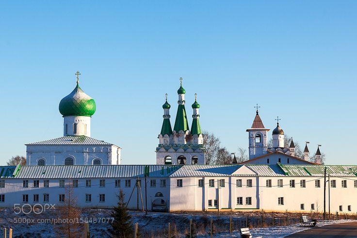 Александро-Свирский монастырь (Alexander-Svirsky Monastery). by Alexfedoseenko