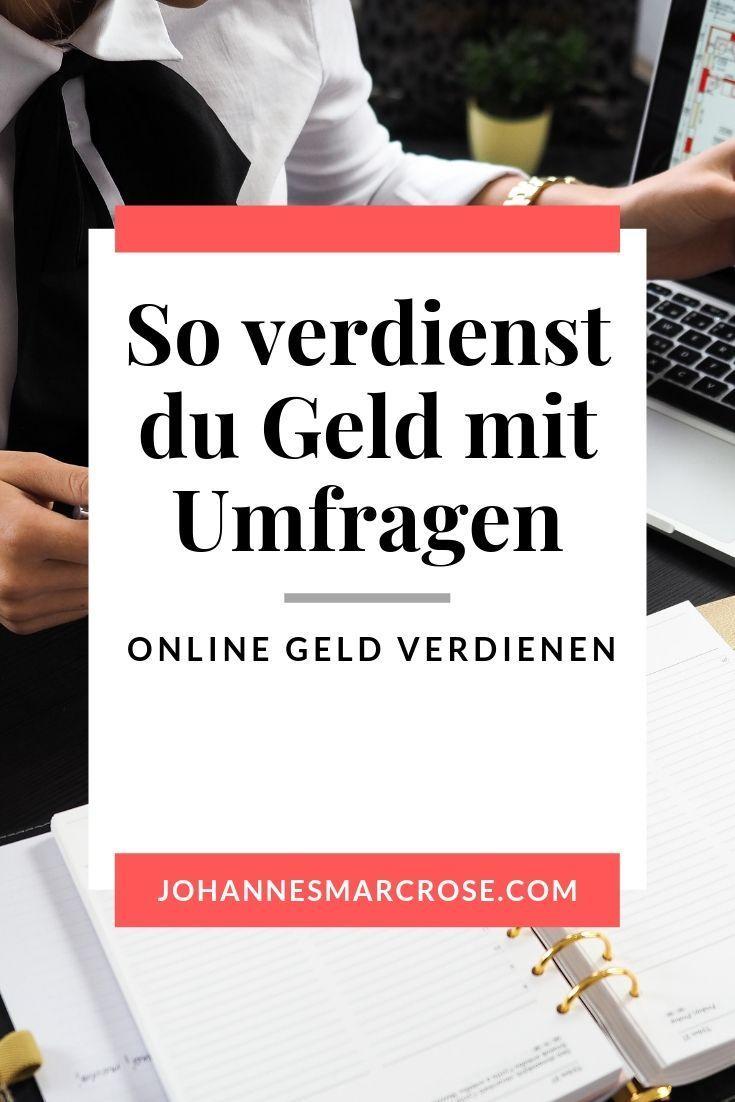 Umfragen Geld Verdienen Schweiz
