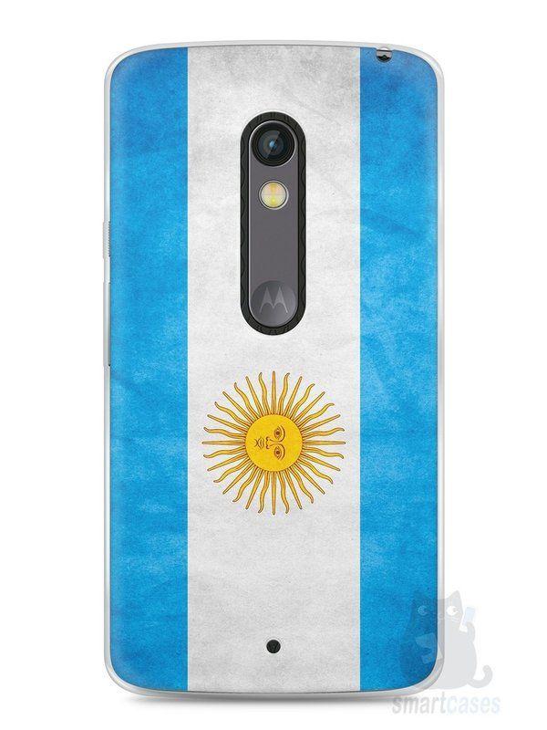 Capa Capinha Moto X Play Bandeira da Argentina #2 - SmartCases - Acessórios para celulares e tablets :)