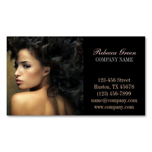 20 best creative business card designs images on pinterest modern chic beauty salon hair stylist business cards i love this design it is reheart Choice Image