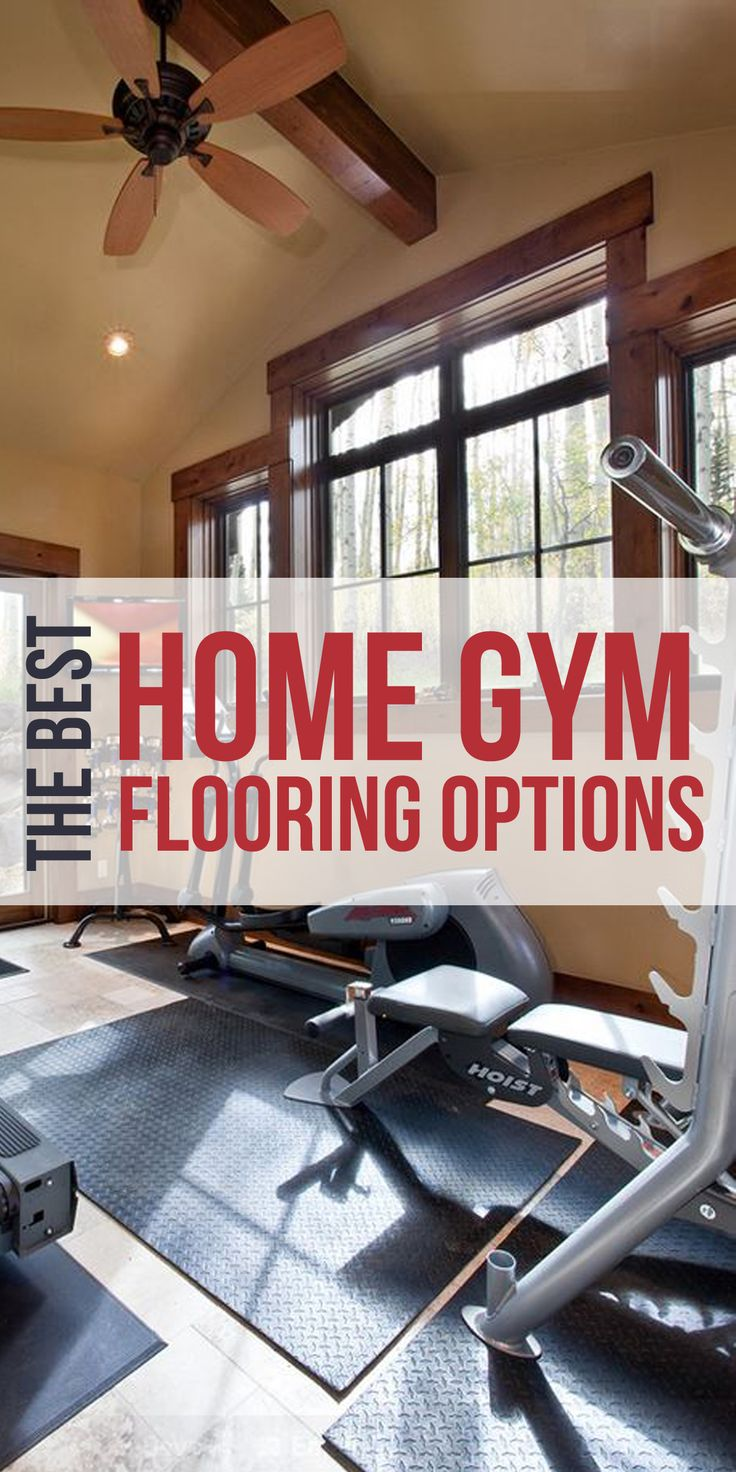 Finding home gym flooring shouldnu0027t be a