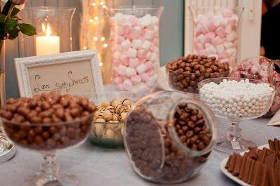 Elämää ja hääsuunnittelua.: Love is sweet - karkkibuffet häissä.